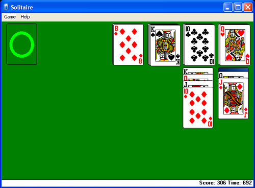 Solitaire Stuck