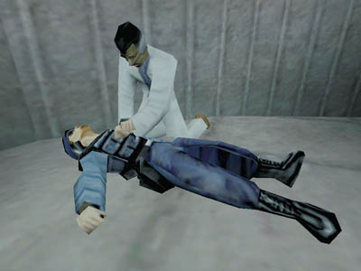 Halflife scientist administers CPR