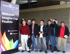 University of Houston design team @ 2011 Imagine Cup