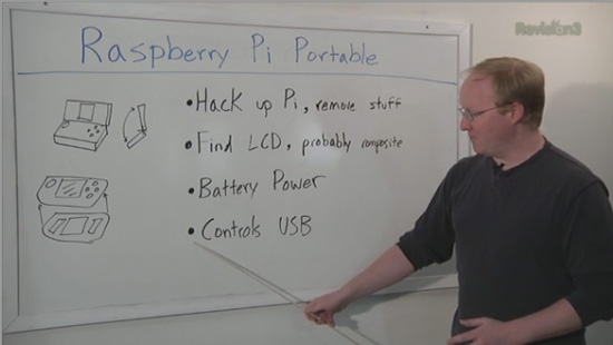 Ben Heck Raspberry Pi Console project overview