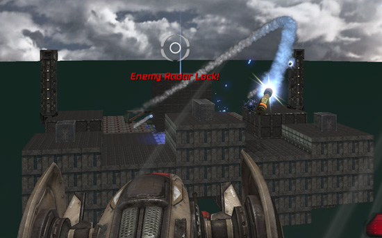 Douhet: map for Unreal Tournament 3 by the Handy Vandal - Incoming Missile 2