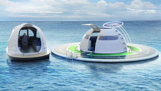 JetCapsule with Floating Base